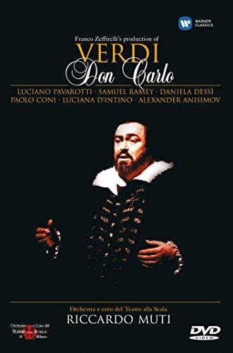 Price comparison product image Verdi - Don Carlo/Pavarotti, Dessi, Ramey, d'Intino, Coni, Muti, La Scala Opera