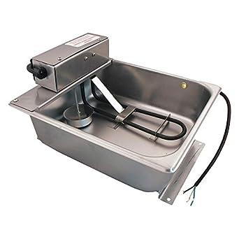Amazon.com: condensado Drain Pan, 4.80 a, 7,5 qt, 11 en W ...
