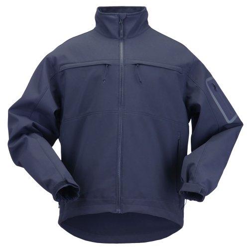 5.11 Tactical #48099 Chameleon Softshell Jacket (Dark Navy, X-Large)