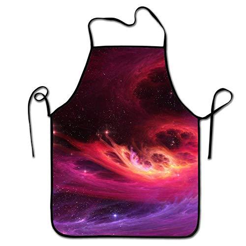 FEDDIY Aprons for Women/Men Lightweight Grilling Waist Purple
