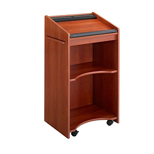 Executive Mobile Lectern - Cherry electronic consumers