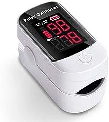 AFAC Saturimetro Ossimetro Pulsossimetro Da Dito Professionale Portatile per Frequenza Del Polso PR e Saturazione...