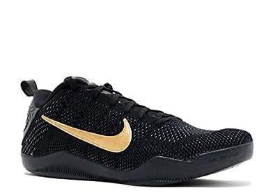 Amazon.com   Nike Kobe 11 FTB Black/Black-Metallic Gold