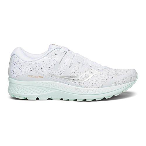 Saucony Ride ISO, Zapatillas de Entrenamiento para Mujer Blanco (White 040)
