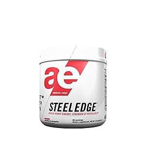 Athletic Edge Steeledge Pre-Workout Powder, Strawberry Margarita, 1.12 Pound,17.76 Ounce