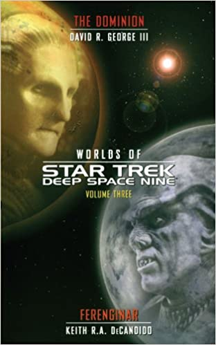 Cardassia and Andor Worlds of Deep Space Nine #1 Star Trek Deep Space Nine