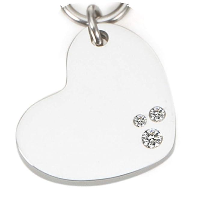 Herz Design Halskette Guess mit 3 Swarovski Kristallen Energetix 4you 2177 Magnetschmuck Love Set Magnetix Kette in Schmuckve
