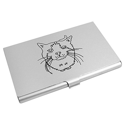 Azeeda Azeeda Wallet Business Credit 'Cat' CH00000060 Card Card Holder 'Cat' 4ZqPUU