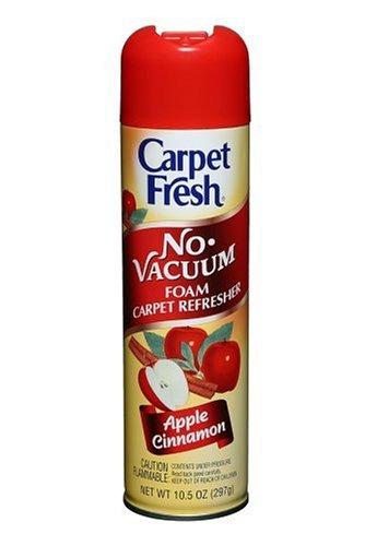 Carpet Fresh 280174 No Vacuum Aerosol Foam Carpet Odor