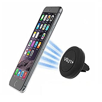 VILIGHT Magnetic Car Mount Phone Holder for Cellphone Like Galaxy iPhone Extra Strong Version CM-STR