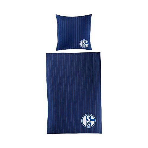 Bertels FC Schalke 04 Bettwäsche Stripes