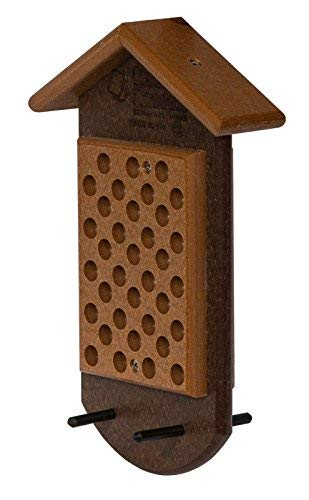 Amish Poly Lumber - Glori-Be's Double Peanut Butter JAR Bird Feeder Made from Poly Lumber Amish Handmade 5