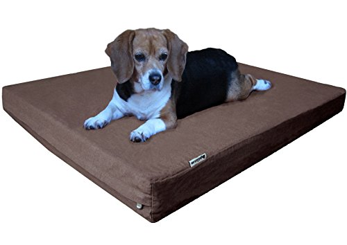 Dogbed4less Orthopedic Cooling Memory Foam Dog Bed For