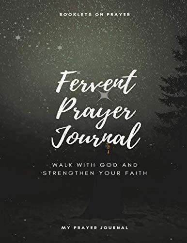 Fervent Prayer Journal Booklets on Prayer: Quieting Your Heart Prayer Journal, Devotional Journal Power Prayers to Start Your Day, Prayer Journal Simple Blue Prayer Notebook with Prompts