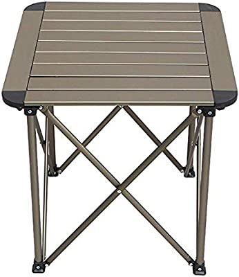 DWLXSH Mesa Plegable Deber de Catering Camping de Aluminio ...