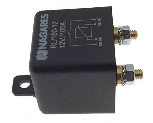 Relais disolement PKW Schalter pour Batterie Auto KFZ Lastrelais Nagares 12V 180A