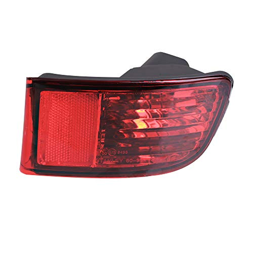 MOFORKIT Rear Right Side Marker Bumper Reflector Fog Lamp Cover Corner Parking Light Lens Compatible with 2003 2004 2005 Toyota 4Runner