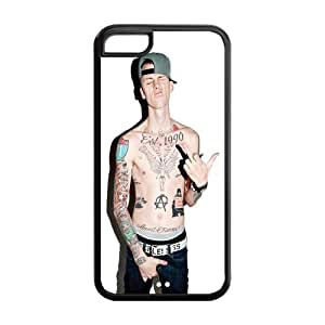 diy phone caseMystic Zone Cool Singer Machine Gun Kelly Cover Case for Apple iphone 6 4.7 inch -(Black and White) -MZ5C00272diy phone case
