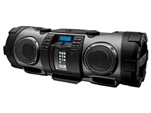 JVC RV-NB70B acoplamiento altavoz - Altavoces (3,5 mm, iPhone, iPod, Negro, Digital, Corriente alterna, Batería, 740 x 315 x 303 mm)