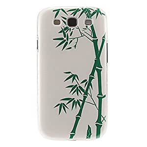HJZ Sinocalamus Oldhami Pattern Plastic Protective Hard Back Case Cover for Samsung Galaxy S3 I9300
