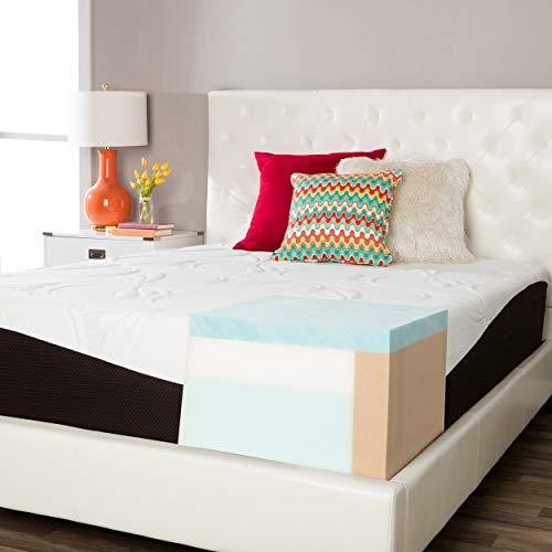 Simmons Beautyrest ComforPedic from Beautyrest Choose Your Comfort 14-inch Gel Memory Foam Mattress Firm King