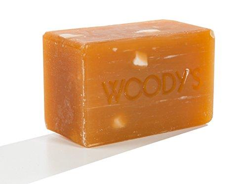 Woody's Hair and Shampoo Body Bar, 8 Ounce ()