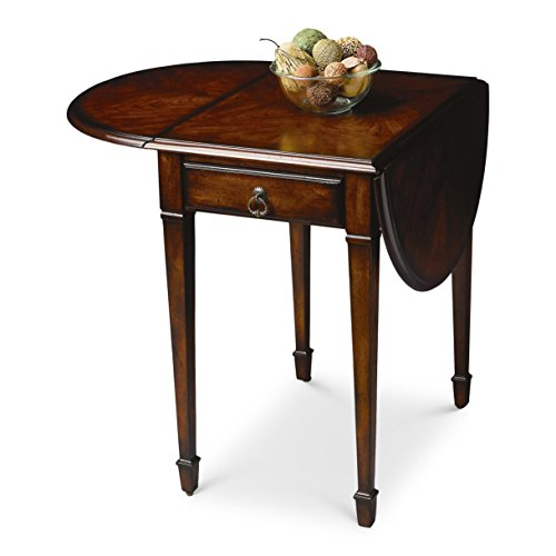 BUTLER 1576024 GLENVIEW PLANTATION CHERRY PEMBROKE TABLE