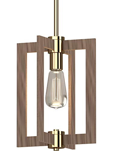 Brushed Nickel with Clear Glass Modern Pendant Light Kitchen Island Lamp Liveditor Lighting Y4058-WM