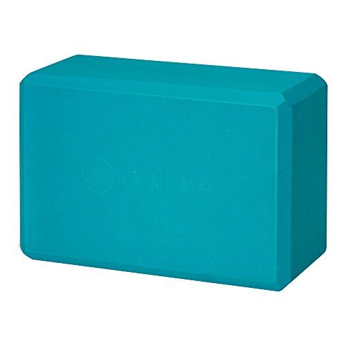 Gaiam Yoga Block, Vivid Blue