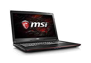 "MSI GP72 Leopard Pro-402 Full HD 17.3"" Performance Gaming Laptop GTX 1050TI i7-7700HQ 8GB 256GB M.2 SATA Windows 10 (B01N4RC5RC) 