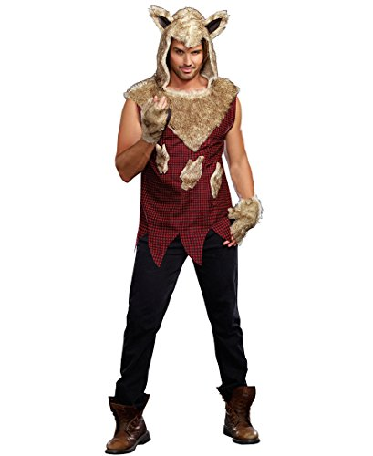 Big Bad Wolf Adult Costume - X-Large