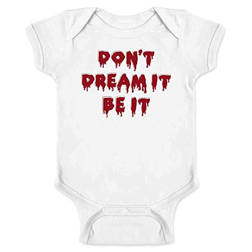 Don't Dream It Be It Halloween Costume White 6M Infant ()