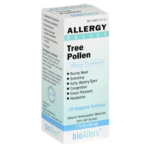 Natra Bio - Allergy Relief/Tree Pollen, 1 fl oz liquid