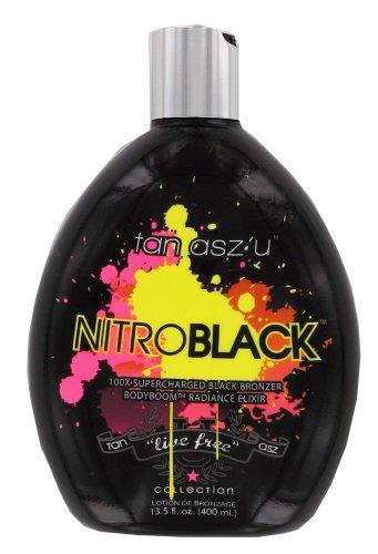 Tan Asz U NITRO BLACK 100X Black Bronzer - 13.5 oz.
