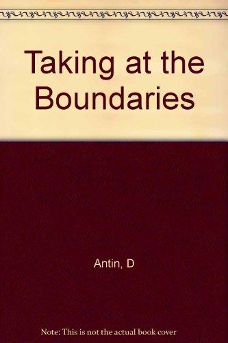 Talking at the Boundaries