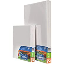 """Pro-Art Stretched Canvas (2 Per Pack), 14"""" x 18"""""""