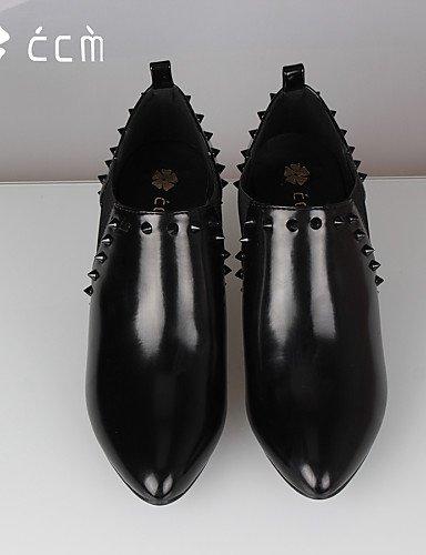 Black 5 Mujer Noche La Puntiagudos Zapatos Uk7 A 5 Oficina Botas Eu40 Moda Cono us9 us9 10 Eu41 De Black 8 Xzz Cn42 Trabajo Semicuero Tacón Casual Uk7 Fiesta Cn41 Botines Y pwqSpE