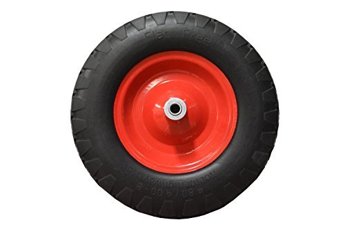 Replacement Wheel Barrow Tire Flat Free 4.80/4.0-8 Review
