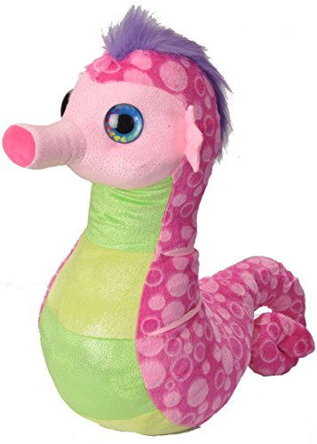 Wild Republic Seahorse Plush, Jumbo Stuffed Animal, Plush Toy, Gifts for Kids, Sweet & Sassy 30 ()
