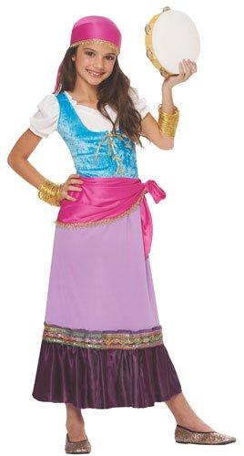 Costume Culture Women's Pretty Gypsy Girl's Costume, Multi, Small]()