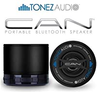Tonez Audio Corp. CAN Portable Bluetooth Speaker/Speakerphone (Stealth/Black)
