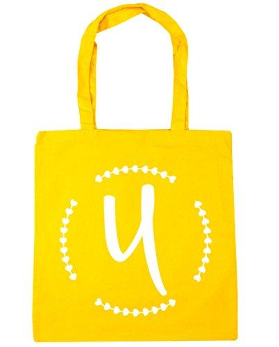 HippoWarehouse - Bolsa de playa de algodón  Mujer, natural (Beige) - 13567-TOTE-Natural amarillo