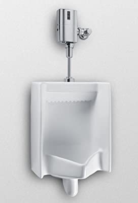 TOTO UE447-1LN#01 EcoPower 0.5 GPF Commercial Urinal with Flush Valve and Seat