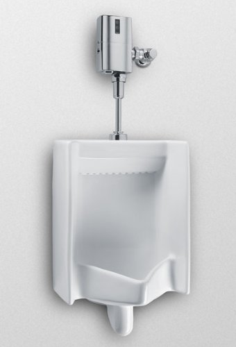 TOTO UE447-1LN#01 EcoPower 0.5 GPF Commercial Urinal with Flush Valve and Seat by TOTO