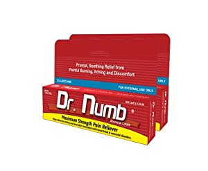 Amazon.com : 2 X 30gm Dr. Numb Max Strength Topical ...
