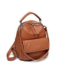 Mini Backpack Purse,ChaseChic Cute Flap Front Pocket Convertible Women Backpack Shoulder Bag for Women,Teen Girls