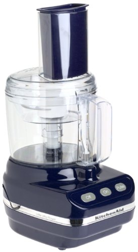 KitchenAid KFP350 5 Cup Little Ultra Power Food Processor, Cobalt Blue