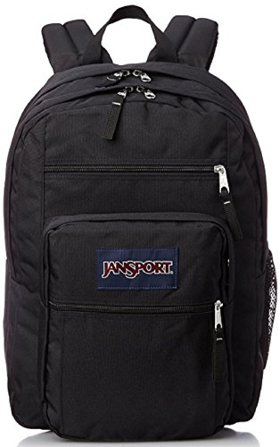 JanSport Unisex Big Student Black One Size