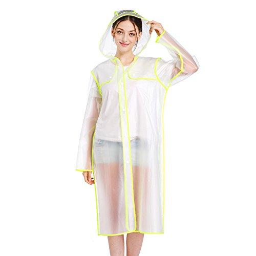 透明 薄くて軽い レインコート アウトドア ハイキング ポンチョ 多機能 Ms. シャム レインコート 軽量 レインウェア 防水 携帯袋付き