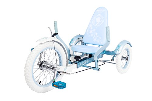 Mobo Youth Triton Disney Frozen The Ultimate Three Wheeled Cruiser, Blue